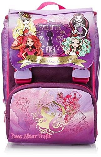 Ever After High Rebel School Pack Schulrucksack mit Gadget und Federmäppchen, 28 l, Violett/Pink