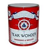 Teak Wonder Oil Dressing & Sealer 1lt Olio Impregnante Teak Trattamento Teak Barca Navi
