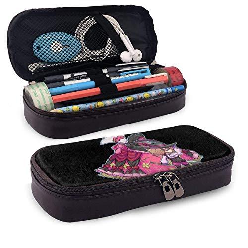 Estuche de lápices de gran capacidad Bolígrafo de almacenamiento grande Estuche de lápices Organizador de papelería Portabolsa portátil con cremallera - Game Persona 5 Haru Okumura