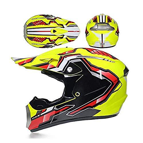 Casco de Motocross Four Seasons Unisex Cross Helmet Casco de Moto para...