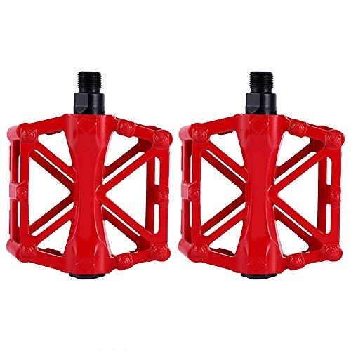 3 Colores Brillantes 1 Par De Pedales De Aluminio Duraderos Antideslizantes Plataforma...