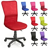 TRESKO Bürostuhl Schreibtischstuhl Drehstuhl, erhätlich in 7 Farbvarianten, mit...