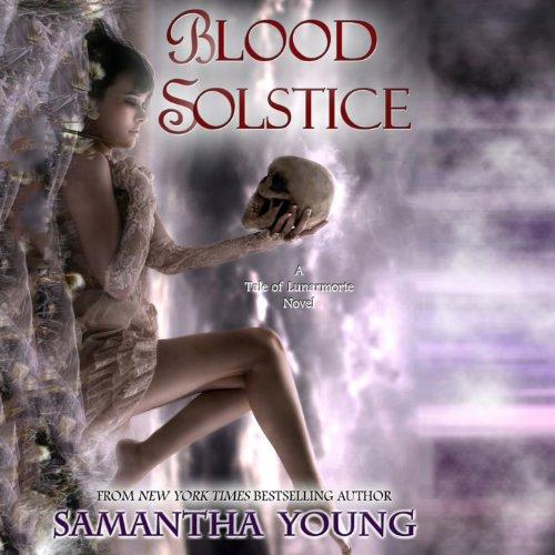 Blood Solstice audiobook cover art
