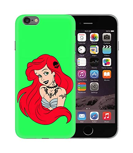 Ariel The Little Mermaid Rock Punk Tattoos_BEN2643 Protective Phone Mobile Smartphone Case Handyhülle Hülle Cover Hard Plastic for Samsung Galaxy S10