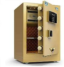 Cabinet Safes, Safes Anti-Fire Anti-Theft Steel Security Safe Deposit Box with Digital Keypad Fingerprint for Home Office ...