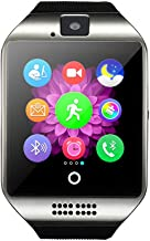 Camera Smart Watch for iPhone Android, Support TF SIM Card Phone Big Capacity, Practical..