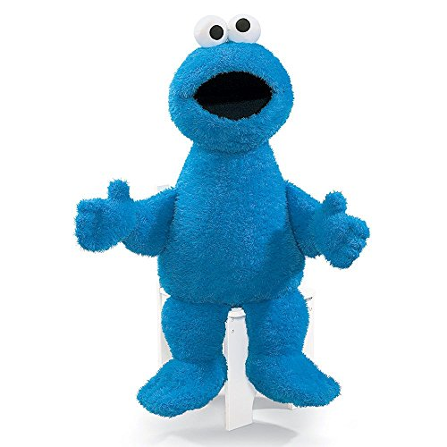 Gund Sesame Street Jumbo Cookie Monster Stuffed Animal, 37 inches