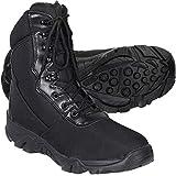 [STRAIGHT TREE] ブーツ メンズ ミリタリーブーツ サバゲー SWAT タクティカルブーツ (ブラック, 27.5)