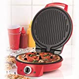 American Originalss EK2295 10' Pizza Maker and Multi Grill, Red
