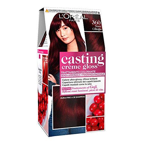 Haarfärbemittel Casting Creme Gloss ohne Ammoniak N360 Schwarzkirsche