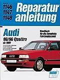 Audi 80 / 90 Quattro (ab 1989): 1,8-2.0- Liter 4-Zylinder. 8 und 16 Ventile. 2.0-/2.3-Liter 5-Zylinder. 10 und 20 Ventile