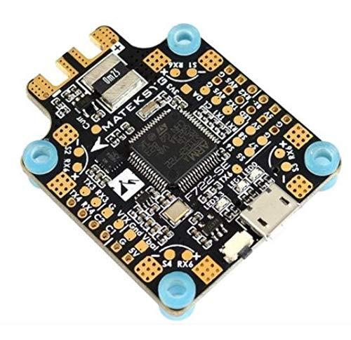 JIJIONG For el Sistema MATEK F722- SE F7 STM32F722 for el Controlador de Vuelo Dual Gryo Incorporado for PDB OSD 5V/ 2A BEC Sensor Actual F722 SE for el Drone de Carreras ( Color : Matek F722-SE )