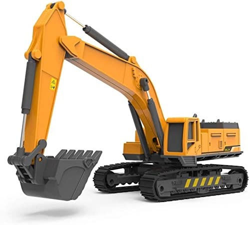 SEREBRUM™ Construction Vehicle Fully Functional Excavator Toy for Kids(Highly Detailed Diecast Excavator)