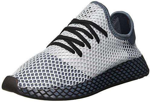 adidas Deerupt Runner, Zapatillas Hombre, Legacy Blue/Silver Met./Core Black, 44 EU