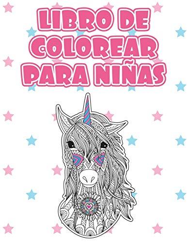 Libros de colorear para niñas: Taller de la calma. Mandalas de animales para niños a partir de 8 años. Libros para niñas quien quiere aprender a ... 1 (Libro de colorear para niñas)