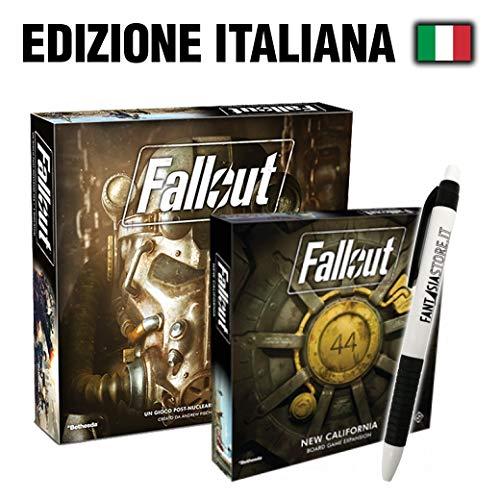 Fantàsia Fallout Bundle - Fallout Gioco Base, Fallout New California + Penna