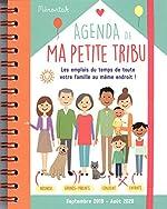 Agenda de ma petite tribu Mémoniak 2019-2020 d'Editions 365