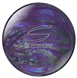 Columbia 300 Scout Reactive Bowling Ball, Purple/Silver, 15