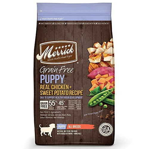Merrick Grain Free Real Turkey & Sweet Potato Dry Dog Food, 12...