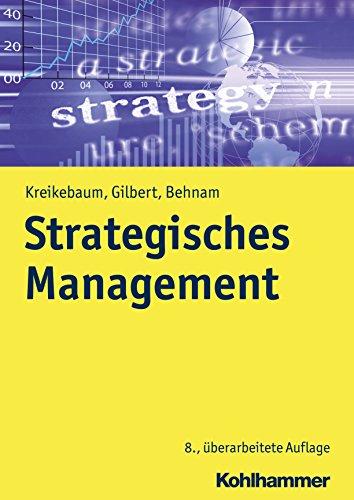 Strategisches Management (Kohlhammer Edition Marketing)