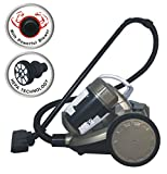 Inalsa Supremo Cyclonic Bagless Cyclinder Vacuum Cleaner-1400W with 100% Pure Copper Motor