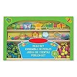 Preis am Stiel NML 09.05.Holzperlen-Set ''Fröhlicher Garten'' | Kreativität | Schmuck | Bastelstunde | Bunt | Kids | Bastelmaterial | Grün | Hobby | Spaß | Geschenk für Kinder 2019 Periel Set Gruen