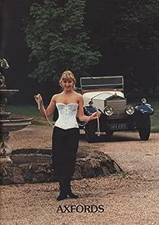 Axfords Catalog 1995 for Corsets & Vintage Lingerie