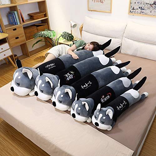 Lindo Husky Siberiano muñeco de Peluche Cachorros niños niñas Almohada para Dormir...