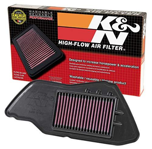 K&N Engine Air Filter: High Performance, Premium, Powersport Air Filter: Fits 2009-2015 YAMAHA (YW125 Zuma) YA-1209