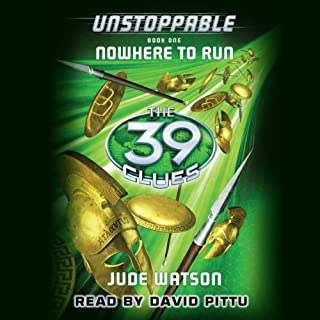 The 39 Clues: Unstoppable audiobook cover art