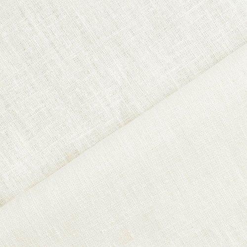 aktivstoffe Holmar - Tela 100% Lino - Prelavado - Translúcido - por Metro (Crema)