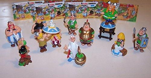 Ü-Ei (Kinder Überraschungsei) Sammelfiguren Set - Komplettsatz ASTERIX UND DIE RÖMER - alle 10 erschienenen Figuren