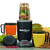 Cooks Professional 10 Piece Nutriblend Premium Blender Smoothie Maker Juicer with Accessory Set