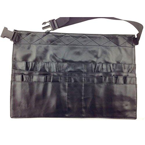 LEORX PU ceinture de pinceaux de maquillage Kit cosmétique outils pour sac pochette