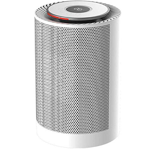 Termoventilador Pequeños electrodomésticos ventilador eléctrico portátil de aire caliente por convección de cerámica mini ventilador calentador personal habitación calentador con termostato ajustable