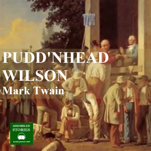 Puddnhead Wilson audiobook cover art