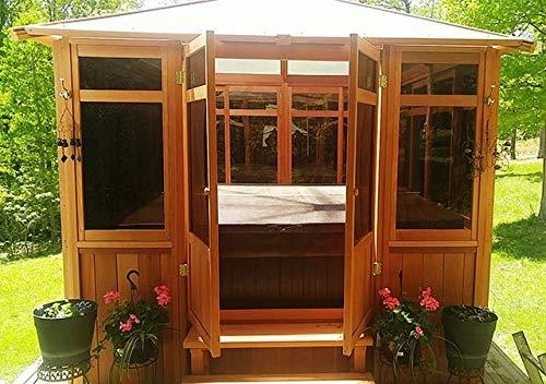 Westview Manufacturing Solarus Hut Spa Gazebo