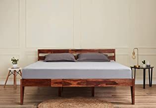 Wakefit Sheesham Wood Bed (Queen Size Bed), Double Bed
