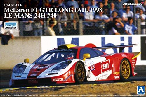 1/24 Super Series coche No.20 McLaren F1 GTR de la cola larga 1998 Le Mans 24 horas # 40