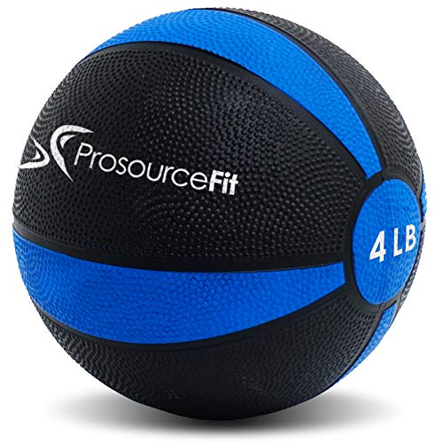 Prosource Fit Weighted Medicine Ball for Full Body Workouts from 4lbs