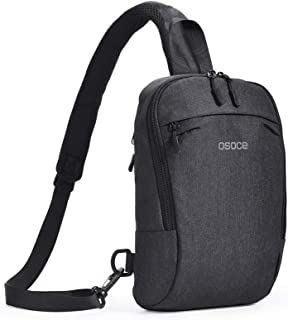 OSOCE Sling Chest Cross Body Bag, Waterproof Anti-Theft Shoulder Backpack Pack for Travel Sport