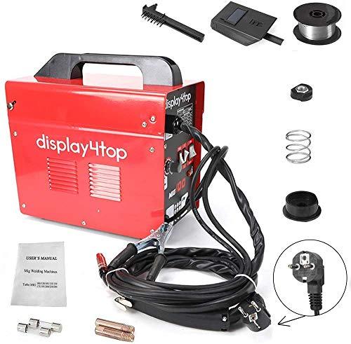 Display4top Soldador hilo continuo sin gas MIG 100 220V Máquina de Soldadora Aparato...