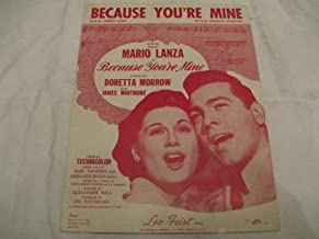 because you re mine 1952
