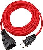 Brennenstuhl 1167470 Cable de Plástico, 230 V, Rojo