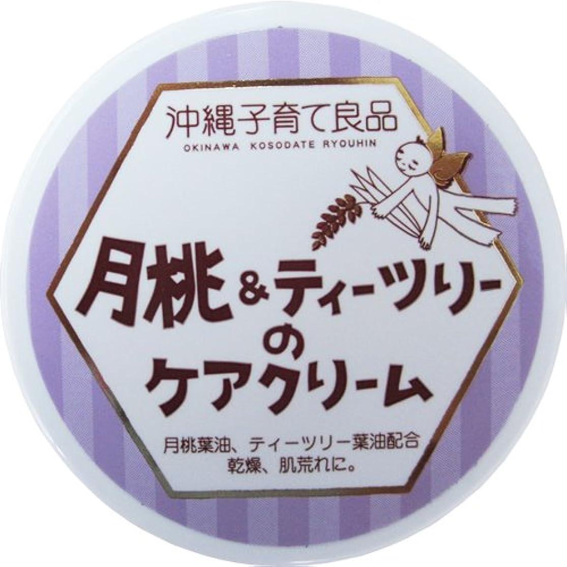 承認ネイティブランデブー沖縄子育て良品 月桃&ティツリーのケアクリーム (25g)