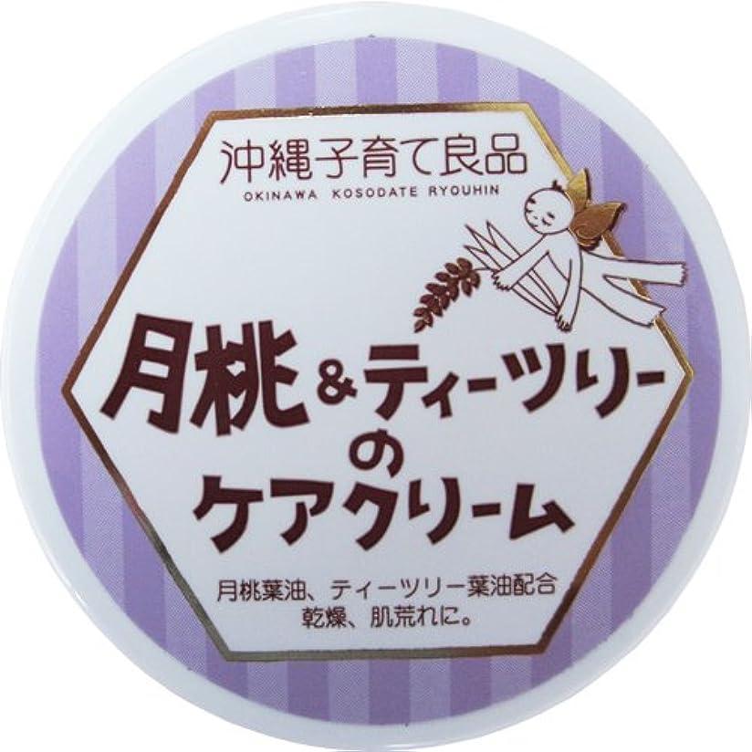 ふつう麺マイルストーン沖縄子育て良品 月桃&ティツリーのケアクリーム (25g)