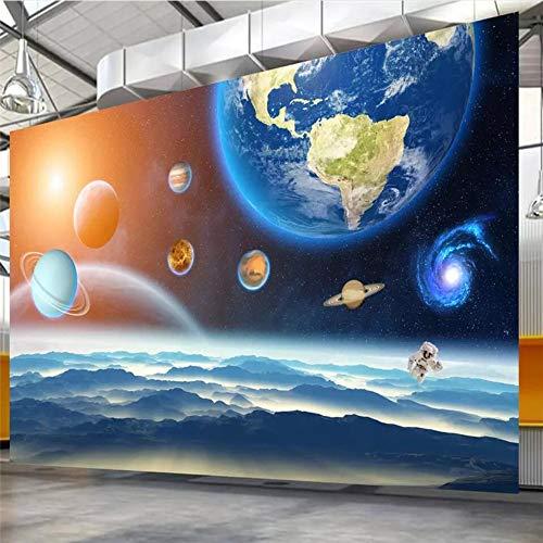 Shuangklei behang aangepast 10 M high-definition zeven sterren Lianzhu sterrenhemel ruimte ruimte droom decoratie 350x250cm