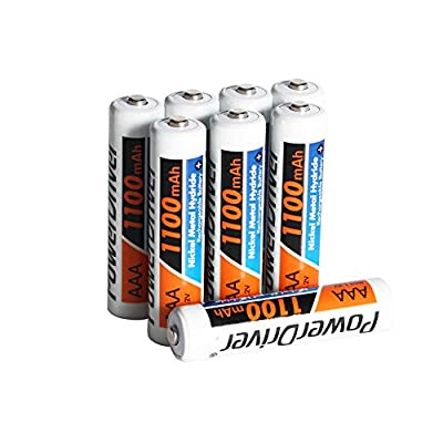 PowerDriver® 1.2V 1200mAh Ni-MH Nimh Pre-charged Rechargeable Batteries AAA