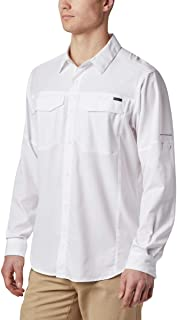 Columbia Men's Silver Ridge Lite Long Sleeve Shirt, UV...