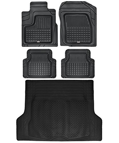 Performance Plus Rubber Car Floor Mat & Cargo Truck Liner All-Weather Heavy...